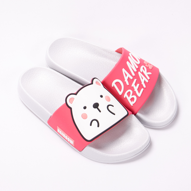 Cartoon Women Summer Slippers Cute Damon Bear Soft Sole Slides Home Slippers Indoor & Outdoor Sandals Women Shoes Flip Flops 16