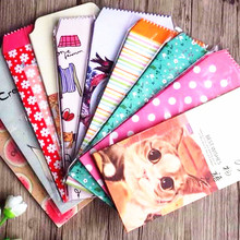 5pcs/pack Kawaii Vintage Flower & Animal series paper Envelope red envelope students' funny gift bag office school supply(China)