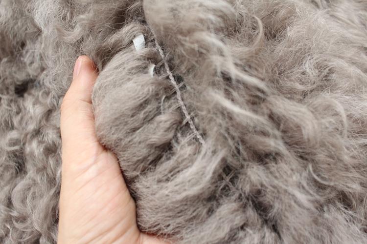 women natural lamb sheep fur coat (26)