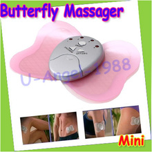 Hot Sell Mini Losing Weight Slimming Butterfly Massager Cheap Body Muscle Fashion Massage
