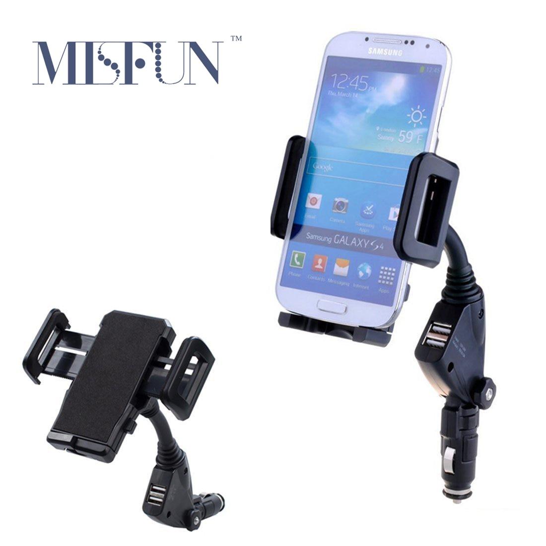 Aliexpress com buy universal car mobile phone holder stand cigarrette lighter 2 ports usb