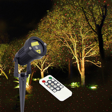 Christmas Laser Light Star Outdoor Garden Decoration Waterproof IP44 Projector laser Red Green Static(China)