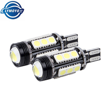 2pcs White Car styling Canbus no Error Emitter LED T15 7.5W 5050SMD 921 912 W16W LED Backup Parking Reverse Lights Car Led(China)