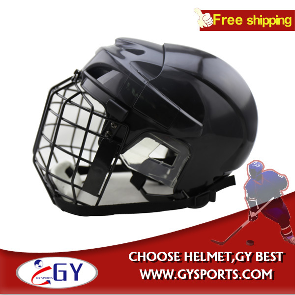 Ice Hockey Helmet and Mask Combo with face field black medium size best selling<br><br>Aliexpress