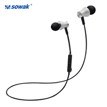 Buy Sowak S1 Sports Earphones Wireless Bluetooth 4.1 Headphones Aptx HiFi 3D stereo earphones mic sports ear hook phone for $13.75 in AliExpress store