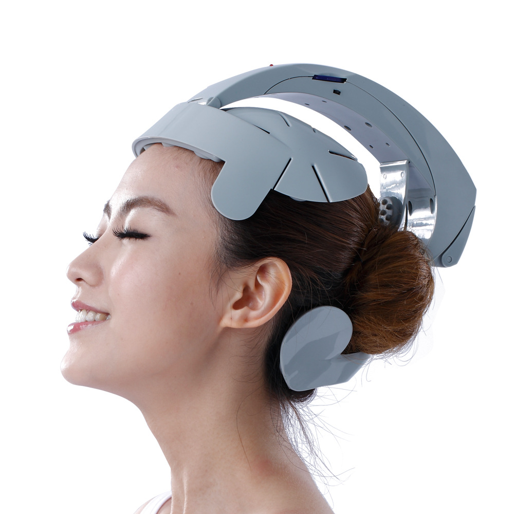 New Humanized design Adjusted Electric Head Massager Brain Acupuncture Points Relax Massage for Head Massageador Relax Your Head<br>
