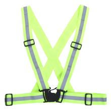 Buy Adjustable High Reflective Safety Vest Belt High Visibility Security Reflective Elasticated Strips Waistcoat Vest Gear Stripes for $3.32 in AliExpress store