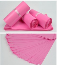 Alice,100pcs/lot Pink Plastic bag and packaging, 32*45cm High quality Self Adhesive mailing bags/express envelope bags