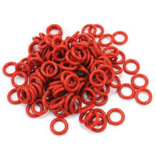 120Pcs/Set Dark Red Silicone O-Ring Switch Dampeners For Cherry MX keyboard Dampers Part Keycap O Type Replace Part Accessories