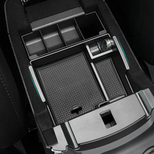 FIT FOR FORD EXPLORER 2011 2013 2014 2015 2016 2017 ARMREST STORAGE BOX ARM REST CENTER CONSOLE GLOVE TRAY PALLET BIN HOLDER