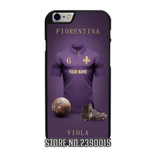Custom FIORENTINA Soccer Jersey Cover Case for IPhone 4 4s 5 5s 5c se 6 6s 7 plus Sony Z Z1 Z2 Z3 Z4 Z5 C3 C4 C5 M2 M4 T3 X XA