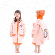Cartoon Kids Waterproof Raincoat Children's Wind Resistant Rain Poncho For Children Cartoon Kids Waterproof Raincoat(China)