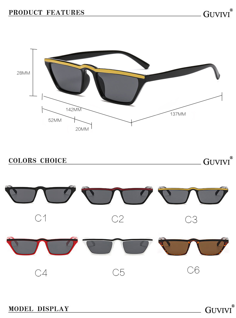 484cbde20a New Fashion Sunglasses Women 2018 mall Rectangle Sunglasses. Popular Men  Yellow Tinted Lens Glasses UV400 Eyewear Sun glasses. 13