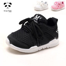 Nice Baby Shoes Anti-Slide Toddler Baby Boy Shoes Breathable Sport Running Soft Kids Shoes Girls Casual Sneakers First Walkers(China)