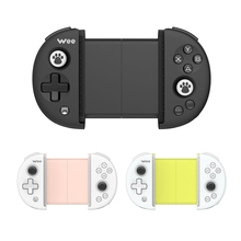 FlyDiGi Wee Bluetooth 4.0BLE Wireless Gamepad Mobile Game Non-vibration Stretchable Handle Controller For IOS And Android