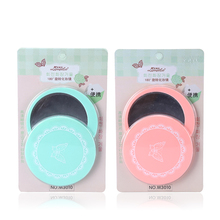 LAMEILA 180-Degree Rotation Makeup Mirror Pink/Green Color Compact Rotate Portable Small Round Hand Pocket Mirror Makeup Tools(China)