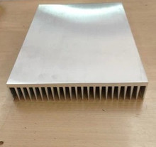 Fast Free Ship 300*50*100mm aluminum radiator fin width 300mm,high 50mm,length 100mm any length custom Heatsink