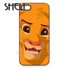 SHELI Lion King Kid Simba Face cellphone case cover for Iphone 4S 5 5S 5C 6 Plus for Samsung galaxy S3 S4 S5 S6 Note 2 3 4(China)
