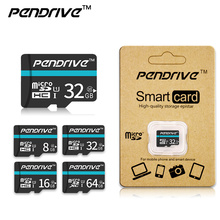 PENDRIVE Top sale Memory Card 4GB C6 8GB 16GB 32GB 64GB Micro SD/TF card Class 10 flash card For Mobile phone tablet PC(China)