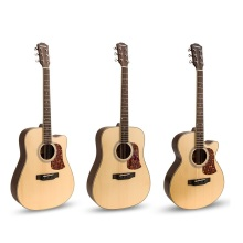 Fingerstyle acoustic guitar,matte 41inch type A folk guitar,acoustic guitar sound full 41inches,Engleman Spruce veneer guitar(China)