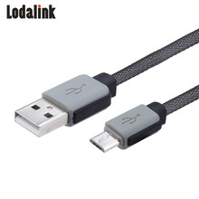 Lodalink Micro USB Cable 2.1A Fast Charging USB Data Charger Cable 0.5M 1M 2M 3M Mobile Phone Cable for Samsung LG Android Phone