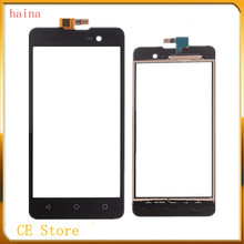 haina With 3M Tape Touch Screen Digitizer For Wiko Lenny 2 Touch Panel Front Glass Sensor Touchscreen + Repair Free Shipping(Hong Kong)
