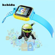kebidu Q730 Smart Watch Kids Wristwatch 3G GPRS GPS Locator Tracker Anti-Lost Smartwatch Baby Watch With Camera For IOS Android