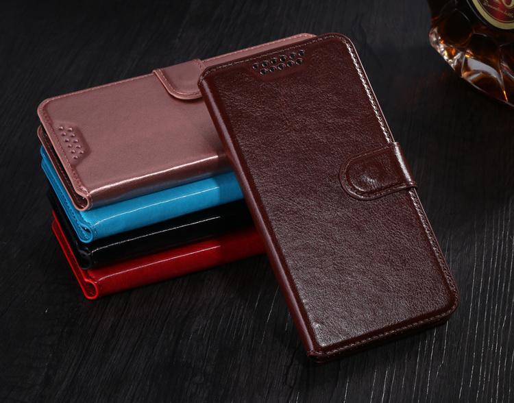 Wallet PU Leather Case Luxury Phone Cover Cases KickStand Design with Card Holder