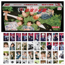 Kpop 2016 caliente Bangtan BTS Mood for Love peripheral section 121 official pictures with the card box Celebrity