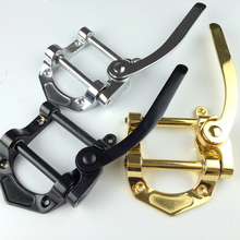 Electric Jazz Guitar Bridge Tremolo System Tailpiece 3 Color Sliver Gold Black Musical Instrument New