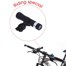 Outdoor Wireless Music Torch Flashlight Radio Bluetooth Bike Speaker LED Light Bicycle Holder Power Bank Cycling Lights