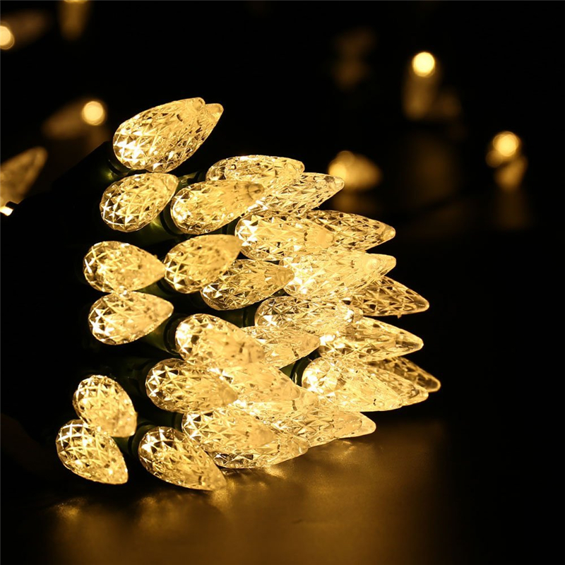 Faceted C5 LED Christmas Lights (14)