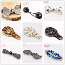 1551017,1 pcs,42mm*12mm / 47mm*19mm*16mm coat buttons. rhinestone buttons. platypus glass with a diamond buckle.