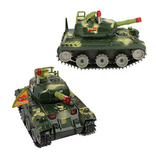 1 Pcs new and more rigorous military model toys children electric dump truck education toys(China)
