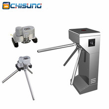 RFID access control system Electric Semi-Automatic Tripod Turnstile for  pedestrian office