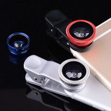 Portable Fish Eye Lens Micro Wide Angle Lens for Apple Iphone/Samsung/Xiaomi/Huawei Fisheye Lens for Mobile Phones