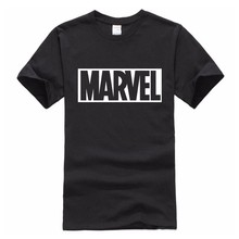 Buy 2017 Summer Cotton T-Shirts Marvel Men's Big Size T Shirts Short Sleeve Slim Fit Fashion Tops & Tees Male Clothing for $4.92 in AliExpress store
