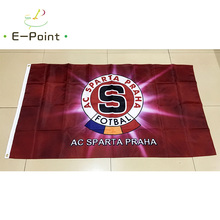 Czech Republic AC Sparta Praha 3ft*5ft (90*150cm) Size Christmas Decorations for Home Flag Banner Gifts(China)