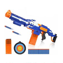 Gun Electric Toy Gun Soft Bullet Toy Guns Sniper Rifle Plastic Ne-rf Guns Outdoor Toys Kids Children's Birthday Gift