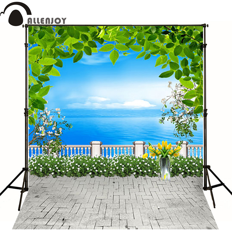 10*20feet(300*600CM) photography background fotografia photo background Plant flowers of the sea photography backdrops<br><br>Aliexpress