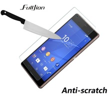 Premium Tempered Glass Screen Protector For Sony Xperia Z1 Z2 Z3 C3 C4 M5 Z5 compact  2.5D 0.33mm 9H Film with Cleaning Kits