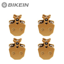BIKEIN - 4 Pairs Disc Brake Pads Mountain Bike Bicycle Hydraulic For Formula ORO K18/K24/PURO Giant DA6/DA8 Metallic Brake(China)