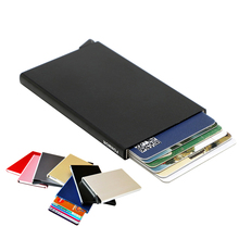 Buy Automatic Pop RFID Blocking Anti-theft Credit Cards Holders Business Card Cases Bank Card ID Card Holer for $7.13 in AliExpress store