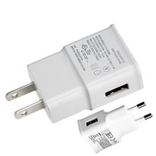 Buy Travel Wall Charger USB Charger Adapter EU US Plug 1A 2A Universal Mobile Phone Charger Samsung Galaxy s8 iPhone Xiaomi for $1.35 in AliExpress store