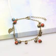 fashion students bell clovers anklets female ceramic jewelry sale wholesale for women #DA2604(China)