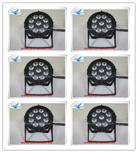 6pcs wedding stage outdoor led par 9x12 w outdoor led par led par rgbw ip65