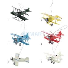 World War I Mini Airplane Die Cast Model Kids Children Toy Gift
