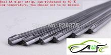 "Free Shipping High Quality Car Wiper Blade Strips Wiper Blades Windscreen Soft Wipers Rubber Size14"" 16"" 17"" 18"" 19"" 22"" 24"" 26"""