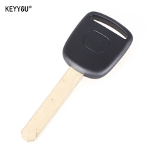 KEYYOU New Uncut Replace remote car key Transponder Ignition for honda CR-V XR-V Accord Civic Jade No Chip With LOGO