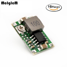 MCIGICM 10pcs Model aircraft power step-down DC DC mini-360 power supply module car power super LM2596 adjustable(China)